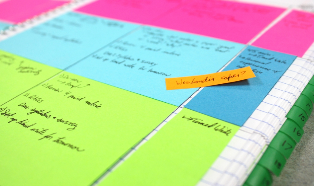 Your Own Sticky Note Planner